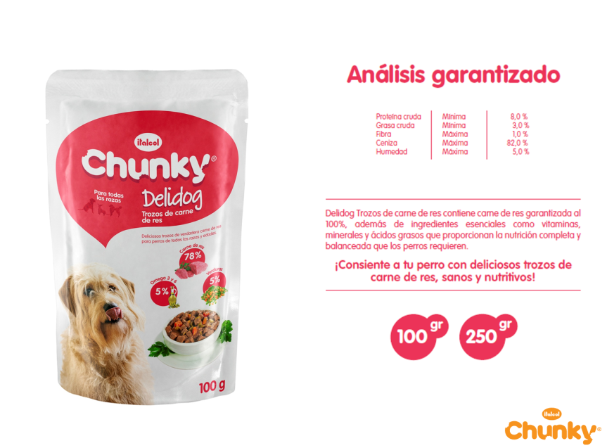 chunky DELIDOS carne
