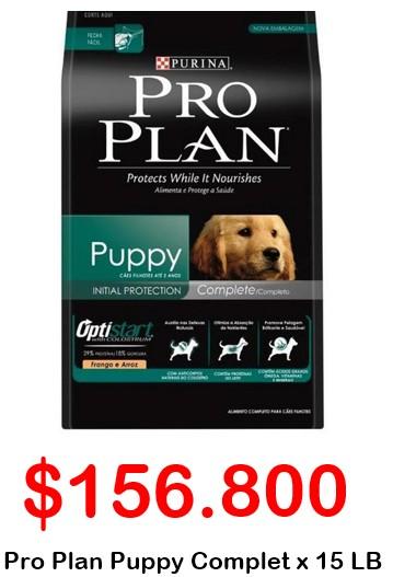 Pro plan Puppy Complete Oferta